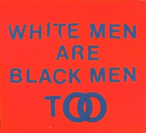 Young Fathers<br>White Men Are Black Men Too<br>CD